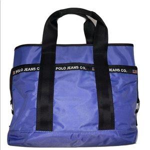 Ralph Lauren Polo Jeans Co Lavender Handbag